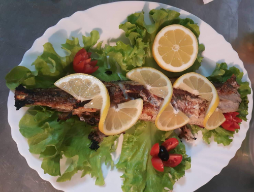 риба, бакаляро, ресторант, Монстър Хай, Monster High, Пловдив